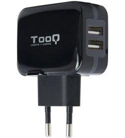 Tooq TQWC-1S02 cargador de pared / 2xusb/ 17w Cargadores smartphone - TOO-CARGA TQWC-1S02