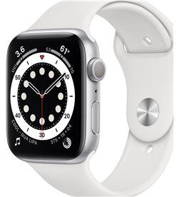 Apple M00D3TY/A watch s6 44mm gps caja aluminio con correa blanca sport band - m00d3t - M00D3TYA