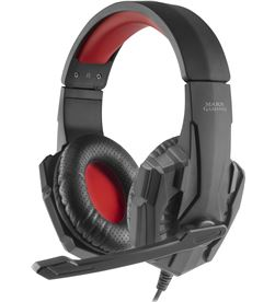 Auriculares diadema con micrófono mars gaming MH020 - dRivers 40mm - micróf - TAC-AUR MH020