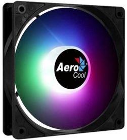 Aerocool FROST12FRGB ventilador frost rgb - 12cm - led rgb fijo - aspas curvadas - mole - AER-REF FROST12FRGB
