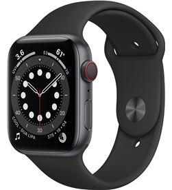 Apple watch s6 44mm gps cellular caja aluminio gris espacial con correa neg MG2E3TY/A - MG2E3TYA