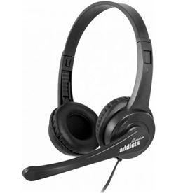 Auriculares Ngs vox505 usb/ con micrófono/ usb/ negros VOX505USB - NGS-AUR VOX505USB