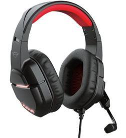 Trust 24030 auriculares gaming con micrófono gxt 448 nixxo/ negros - 8713439240306