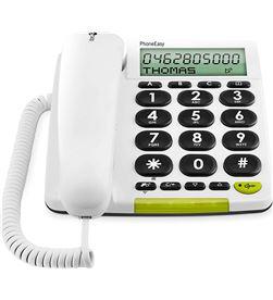Todoelectro.es +23567 #14 doro phone easy 312cs blanco teléfono fijo con cable pantalla altavoz manos - +23567 #14