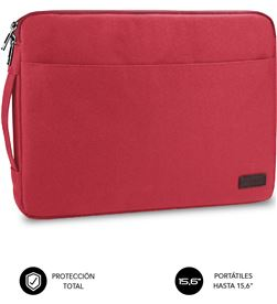 Todoelectro.es SUB-FUNDA LS-0PS0103 funda subblim urban laptop sleeve para portátiles hasta 15.6''/ rojo sub-ls-0ps0103 - SUB-FU