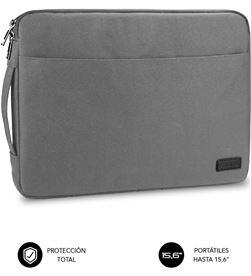 Todoelectro.es funda subblim urban laptop sleeve para portátiles hasta 15.6''/ gris sub-ls-0ps0102 - SUB-LS-0PS0102