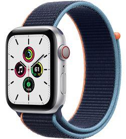 Apple watch se 44mm gps cellular caja aluminio con correa azul marino sport MYEW2TY/A - MYEW2TYA