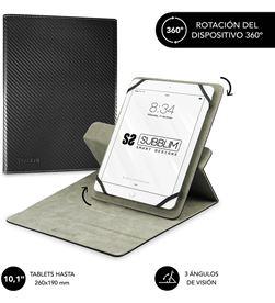 Todoelectro.es SUB-FUNDA CUT-3RE001 funda universal subblim rotate 360º para tablet hasta 10.1''/25.6cm black - sub-cut-3re001 -