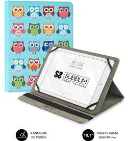 Todoelectro.es SUB-FUNDA CUT-4TC003 funda universal subblim trendy owls para tablet hasta 10.1''/25.6cm - rotaci sub-cut-4tc003