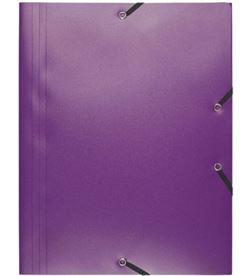 Todoelectro.es carpeta de gomas pp opaco a4 - malva - 3 solapas - hasta 150 hojas de 80 gr exa55918e - EXA55918E