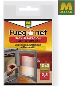 Masso pack reparacion fuego net cordon plano autoadhesivo de fibra de vidrio 15x3 8424084009575 - 85848