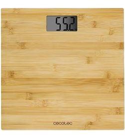 Báscula de baño Cecotec surface precision 9300 healthy/ hasta 180kg/ bambú 5504087 - 5504087