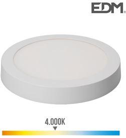 Edm downlight led superficie 20w 1500 lumens 4.000k luz dia blanco 8425998315905 - 31590