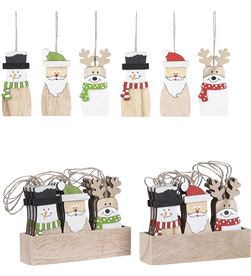 House decoración para arbol de navidad modelos surtidos 17x12x3,5cm 8718861818758 - 72182