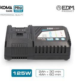 Koma cargador rapido bateria 125w tools pro series battery edm 8425998087734 - 08773