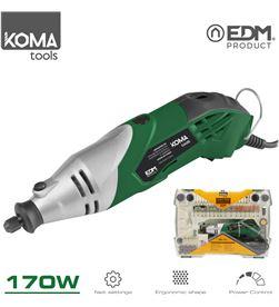 Koma mini herramienta multiusos rotativa de potencia 170w con accesorios to 8425998087093 - 08709
