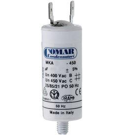 Comar condensador mka 70 uf 5% 450 v 50x120 con espiga m8 y faston doble 8425998630190 - 63019