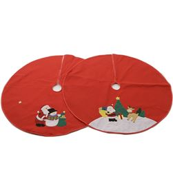 Decoris base decorativa redonda para arbol navidad 100cm diametro 8718533744446 - 71923