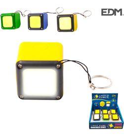 Edm linterna led recargable con usb e iman cob 300 lumens 8425998363937 - 36393