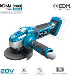 Koma amoladora 20v (sin bateria y cargador) tools pro series battery edm 8425998087529 - 08752