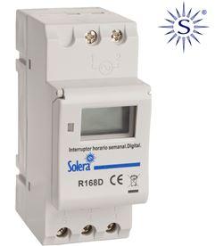 Solera interruptor horario semanal digital-analogico 4232200900446 - 43018