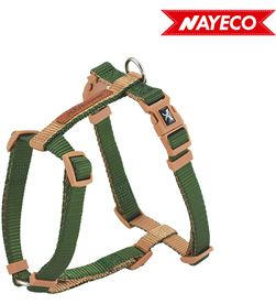 Nayeco arnes verde-beig forest-british x-trm doble premium 60-100cm x 2.5cm 8427458018050 - 06972