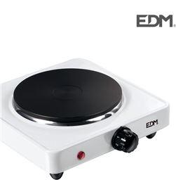 Edm cocina electrica - 1 fuego - 1000w - 8425998076608 - 07660