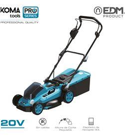 No cortacesped 20v (sin bateria y cargador) koma tools pro series battery edm 8425998087598 - 08759