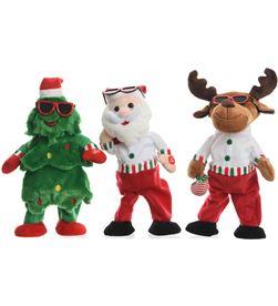 Decoris muñeco navideño rapero 3 modelos surtidos 8718532545242 - 72018