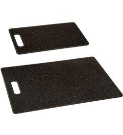 Five kit 2 tablas para cortar de polipropileno color negro 3560239216988 - 75526