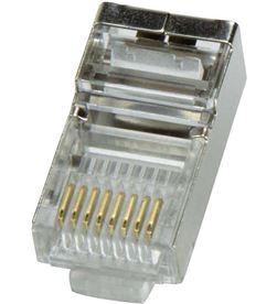 Logilink conector rj45 macho ftp cat5e blindado (bolsa 100ud) 4052792003833 - 55032
