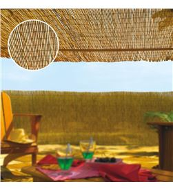 Edm cañizo de bambu natural ø aprox. 3 - 5mm medidas: 1,5x5mts 8413246150095 - 75817
