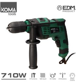 Koma taladro percutor - 710w - edm 8425998087017 KOMA - 08701