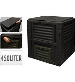 No caja de compostaje 450l negra 8711295622533 JARDÍN - 90418