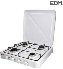 Edm cocina de gas - esmaltada - 4 fuegos - 8425998074222 - 07422