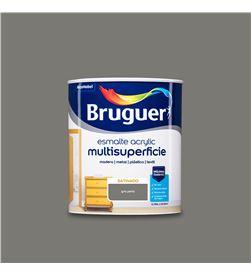 Bruguer esmalte acrylic multisuperficie satinado gris perla 0,750l 8429656122898 - 25026