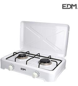 Edm cocina de gas - esmaltada - 2 fuegos - 8425998074208 - 07420