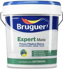 Bruguer pintura pp mate blanca expert 4l para interior y exterior 8429656013349 - 25095
