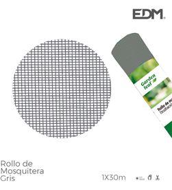 Edm rollo mosquitera gris 1x30mts 8425998758726 MATAMOSQUITOS AHUYENTADORES - 75872