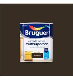 Bruguer esmalte acrylic multisuperficie satinado marron toscana 0,750l 8429656124205 - 25027