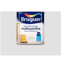 Bruguer esmalte acrylic multisuperficie satinado gris niebla 0,750l 8429656033583 - 25025