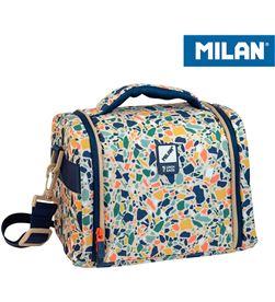 Milan bolsa isotermica porta alimentos gran capacidad beige 8411574088103 - 64159