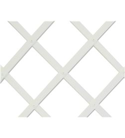 Nortene trelliflex celosia de plastico 1x2mts blanca 22x6mm 3260821701068 - 75973