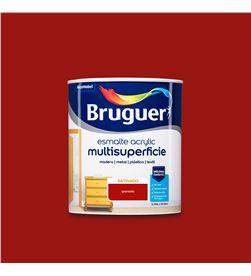 Bruguer esmalte acrylic multisuperficie satinado 0,750l granada 8429656124083 - 25023