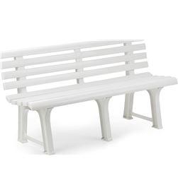 Ipae banco jardin color blanco progarden 8009271890084 - 75229