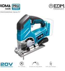 Koma caladora 20v (sin bateria y cargador) tools pro series battery edm 8425998087543 - 08754