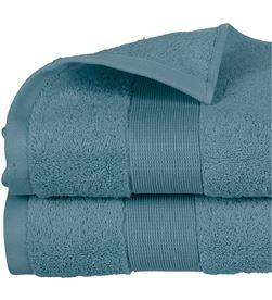Atmosphera toalla de rizo 450gr color azul abeto 100x150cm 3560238359747 - 68022