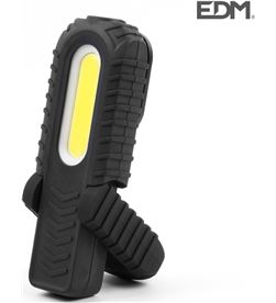 Edm linterna led luz frontal dos potencias,luz superior, indicador bateria.reca 8425998364033 - 36403