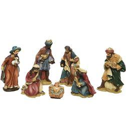 Decoris set de 7 figuras para belen 9cm 8718532364201 - 72277
