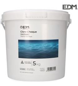 Edm cloro de choque 5 kg fusion 8425998817010 PISCINAS QUIMICOS - 81701